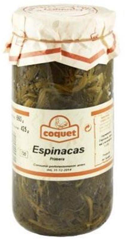 Espinacas Coquet
