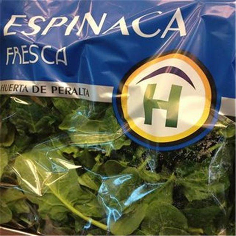 Espinacas Frescas Huerta de Peralta