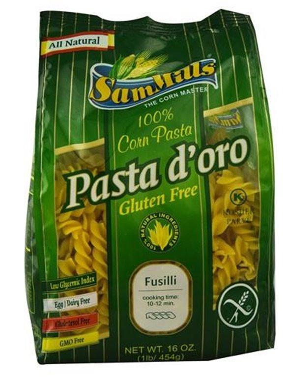 Espirales de maíz sin gluetn, 1 ud
