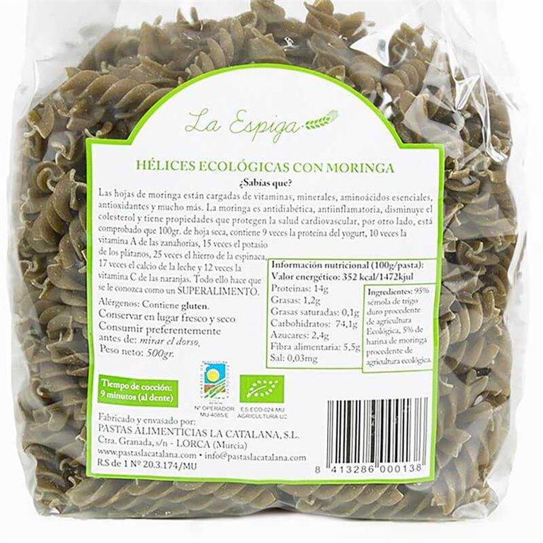 Espirales ecológicas con Moringa - La Espiga