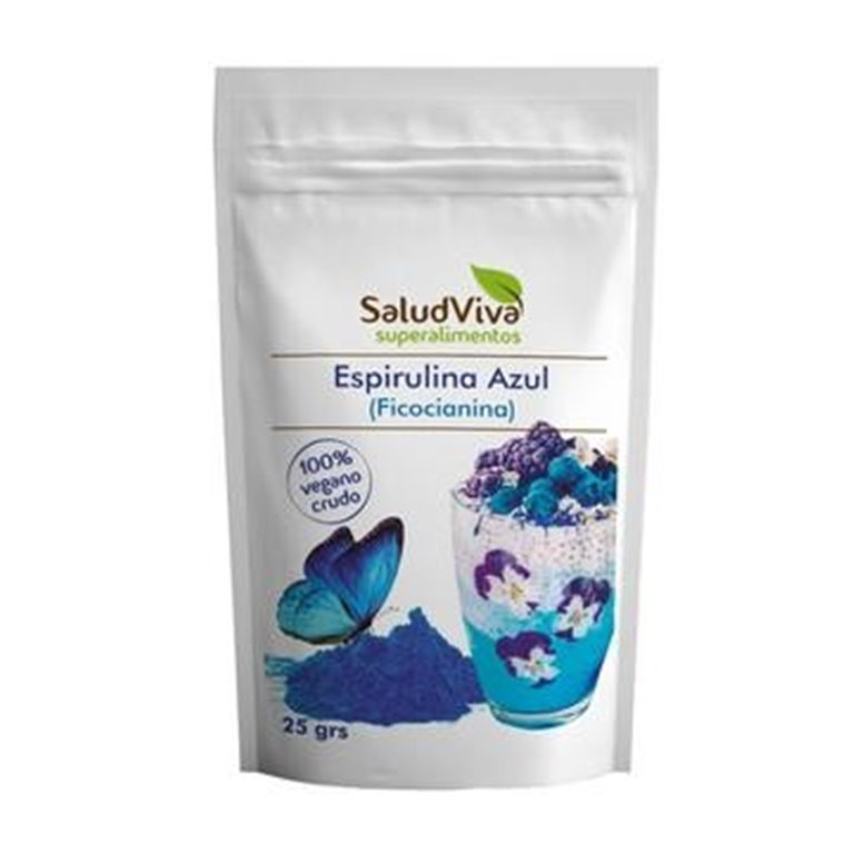 Espirulina Azul (Ficocianina) en Polvo 25g