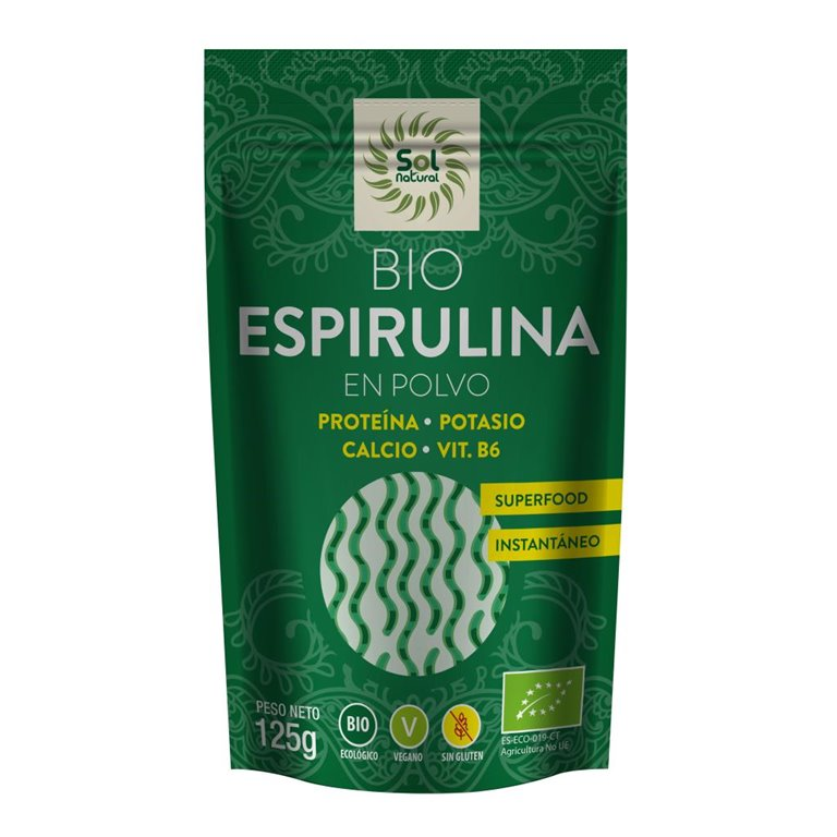 Espirulina en Polvo Bio 125g