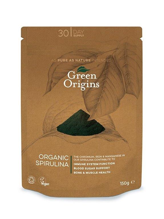 Espirulina orgánica, 130 gr