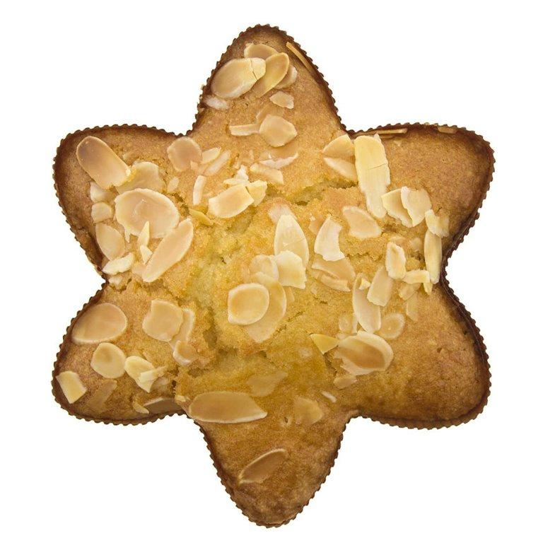 Estrella de Almendra Ecológica 150gr, 1 ud