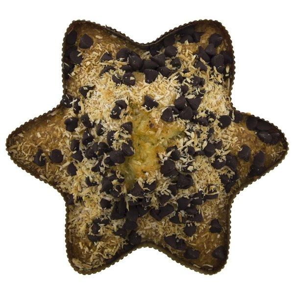 Estrella de Coco con Chocolate Ecológica 150gr