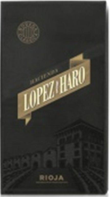 Estuche 2 botellas Hacienda López de Haro Crianza y Reserva, 2 ud