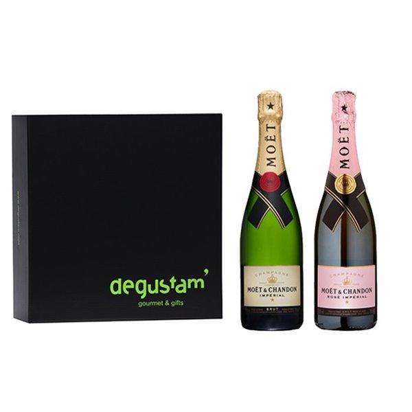 Estuche con Champagne Moët & Chandon
