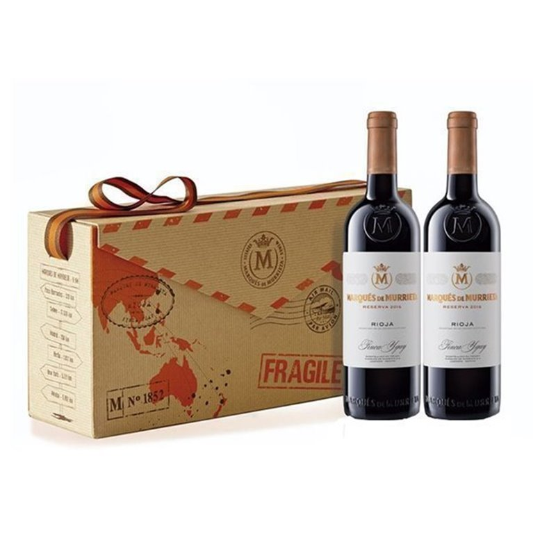 Estuche de 2 Vinos Marqués de Murrieta Reserva, 1 ud