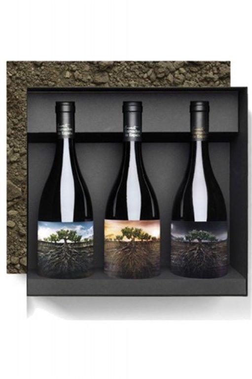 Estuche de Vino Proyecto Garnachas  3 Botellas