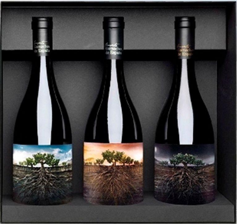 Estuche de Vino Proyecto Garnachas Salvajes de España 3 Botellas, 3 ud