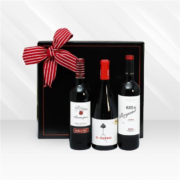 Estuche De Vinos De Navidad N83