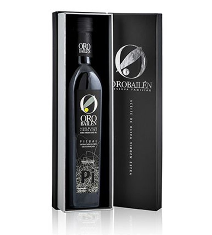 Estuche regalo Oro Bailén Reserva Familiar 500 ML.