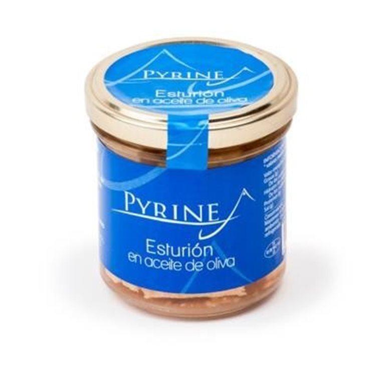 Esturión en aceite de oliva Pyrinea