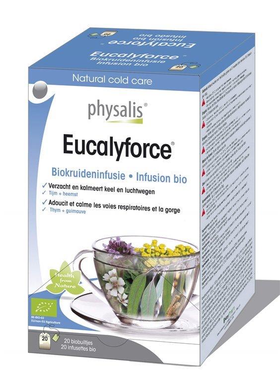 Eucaliforce infusión bio, 30 gr