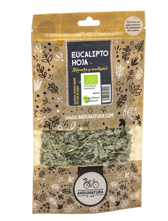 Eucalyptus Leaves Kraft Bag 60g ORGANIC