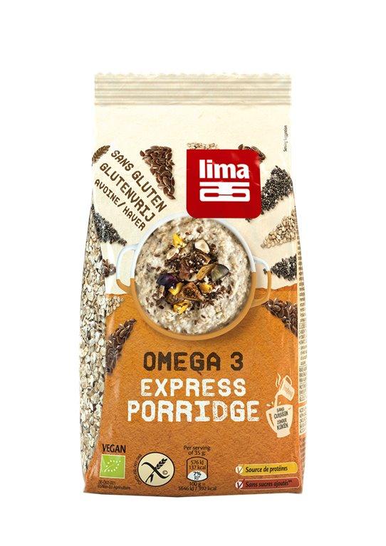 Express Porridge Omega 3, 350 gr