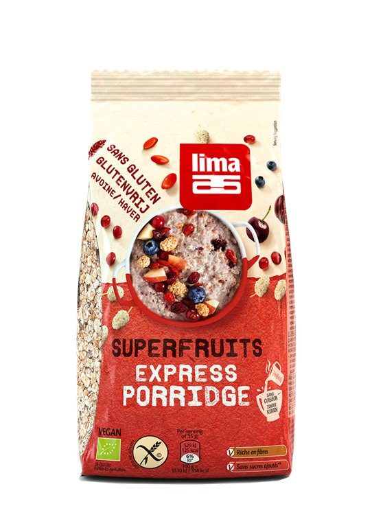 Express Porridge Superfruits, 350 gr