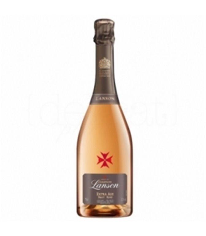 Extra Age Brut Rosé 75cl. Champagne Lanson. 6un.