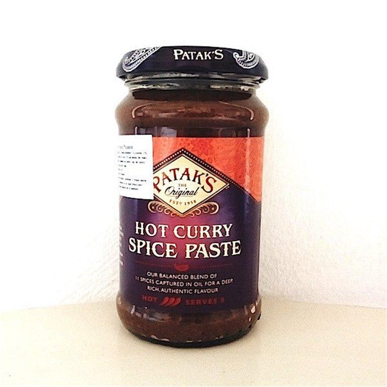 Extra Hot pasta de curry Patak's