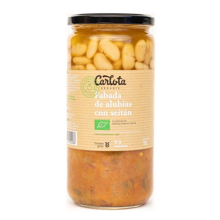 Fabada of beans with seitan and shiitake 720g