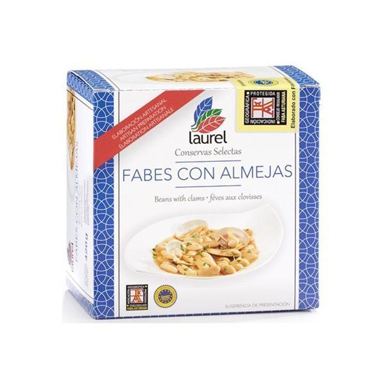 Fabes con Almejas, 490 gr