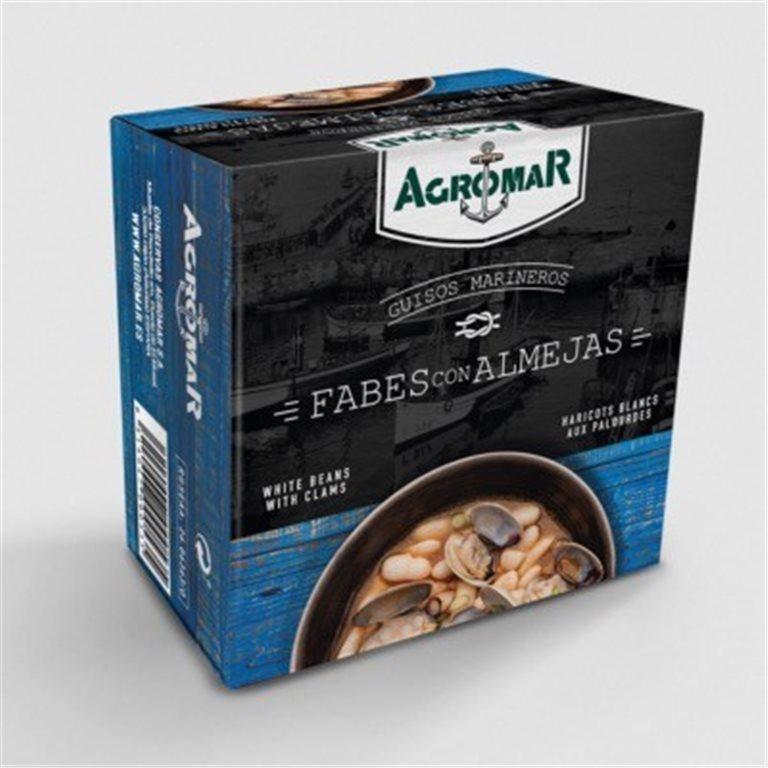 Fabes con almejas Agromar