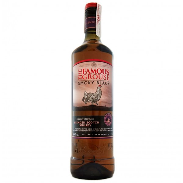 FAMOUS GROUSE SMOKY BLACK 1L.