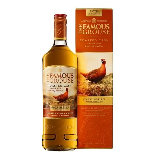 FAMOUS GROUSE TOASTED 1,00 LITRO 40º