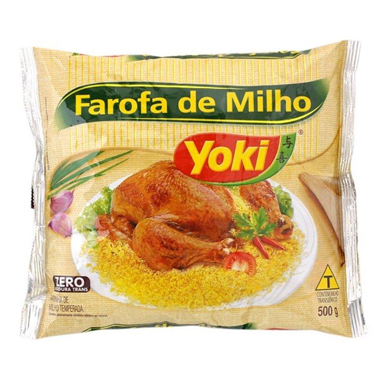 FAROFA PRONTA MILHO YOKI X 500GRS
