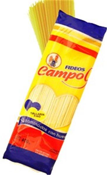 FIDEOS CAMPO9 TALLARIN 400GR