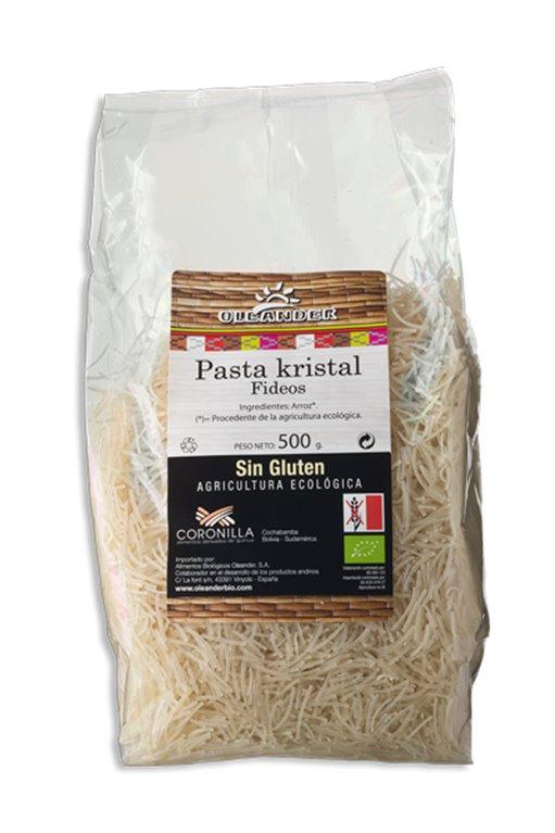 Fideos de arroz sin gluten, 500 gr