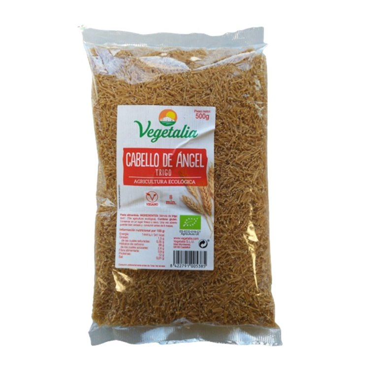 Fideos Finos de Trigo Duro Integral Bio 500g