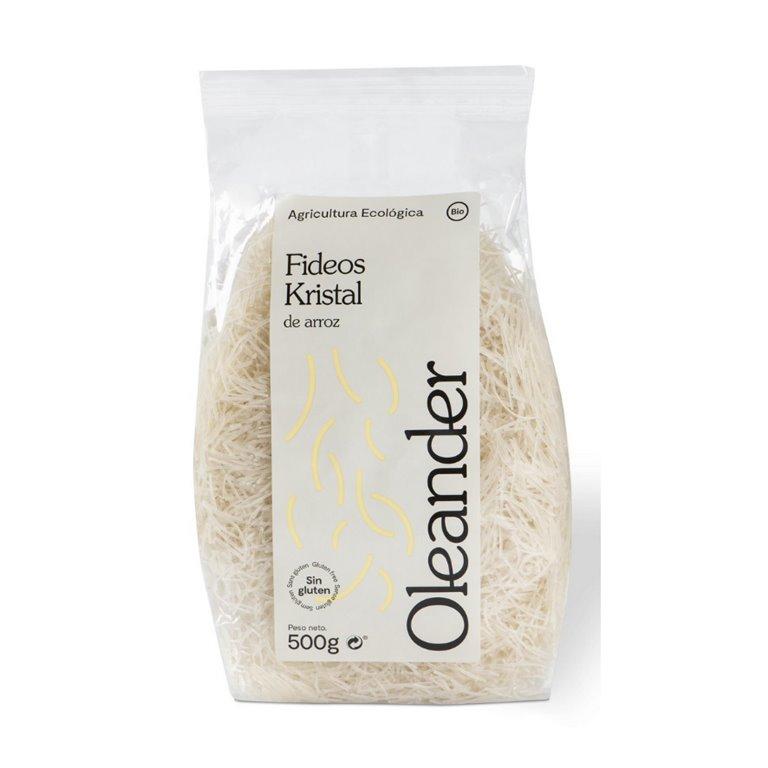 Fideos Kristal de Arroz Sin Gluten Bio 500g