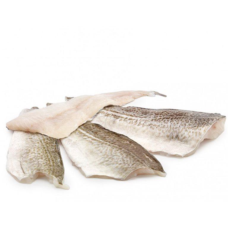 Filete de bacalao al punto de sal