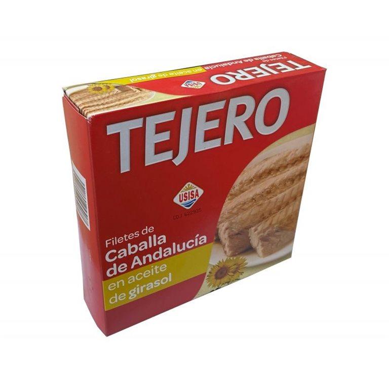 Filete de Caballa de Andalucia en Aceite Girasol TEJERO RO550