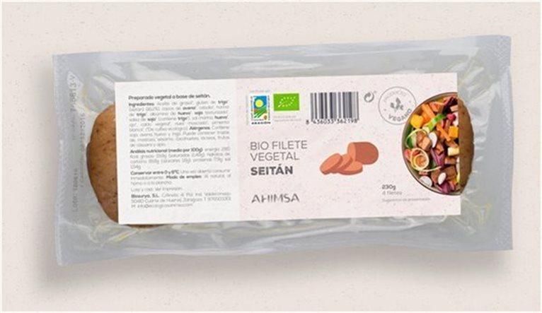 Filete Vegetal Seitan Bio Ahimsa 230gr