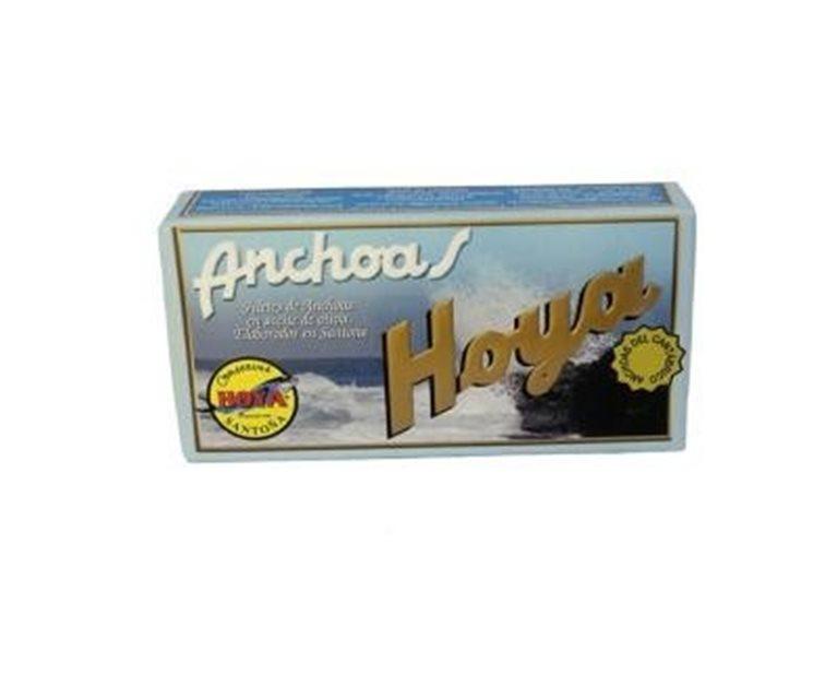 Filetes de anchoa en aceite de oliva Conservas Hoya