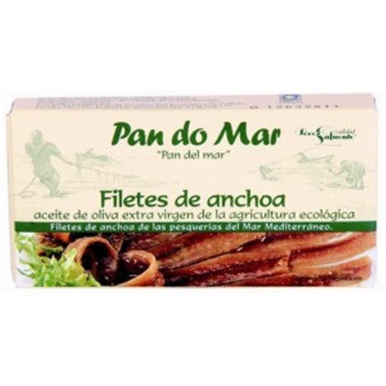 Filetes De Anchoa, 50 gr