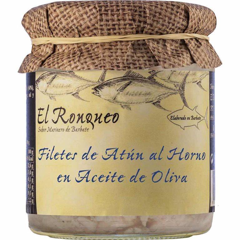 Filetes de Atún al Horno en Aceite de Oliva