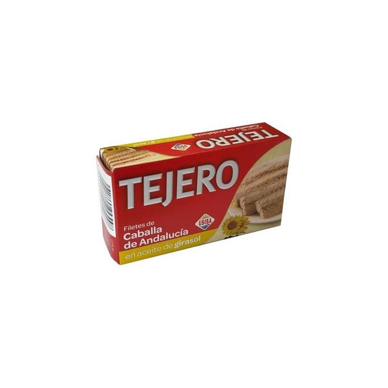 Filetes de Caballa de Andalucia en aceite de girasol TEJERO RR.125