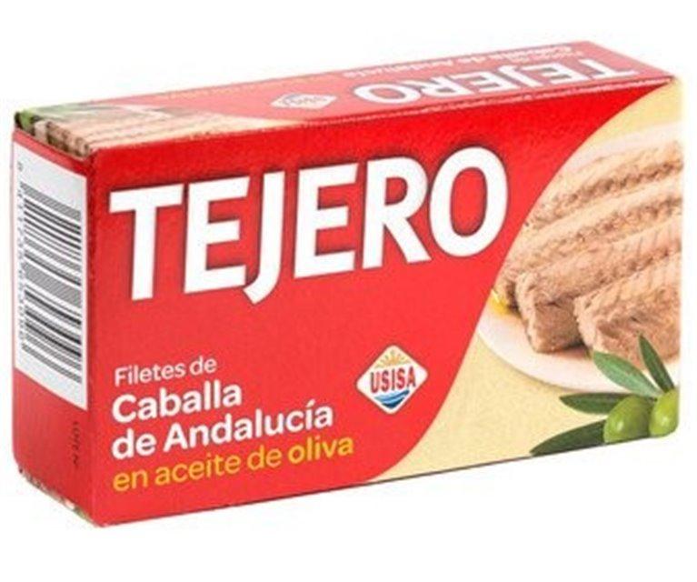 Filetes de Caballa del Sur en aceite de oliva 125g Tejero