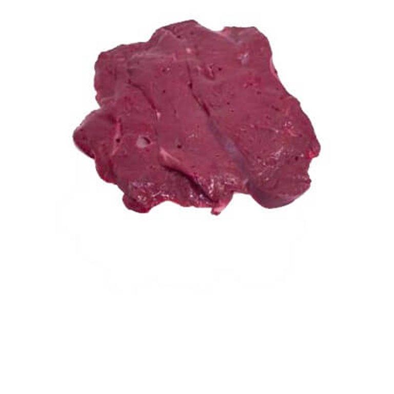 Filetes de hígado ternera, 100 gr