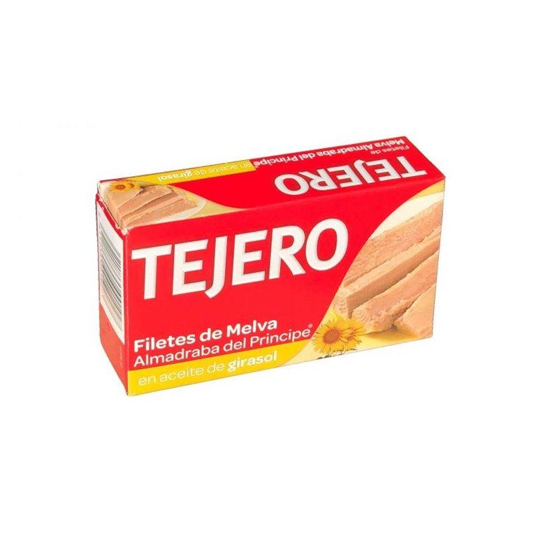 Filetes de Melva Almadraba del Príncipe en aceite de Girasol TEJERO 125g