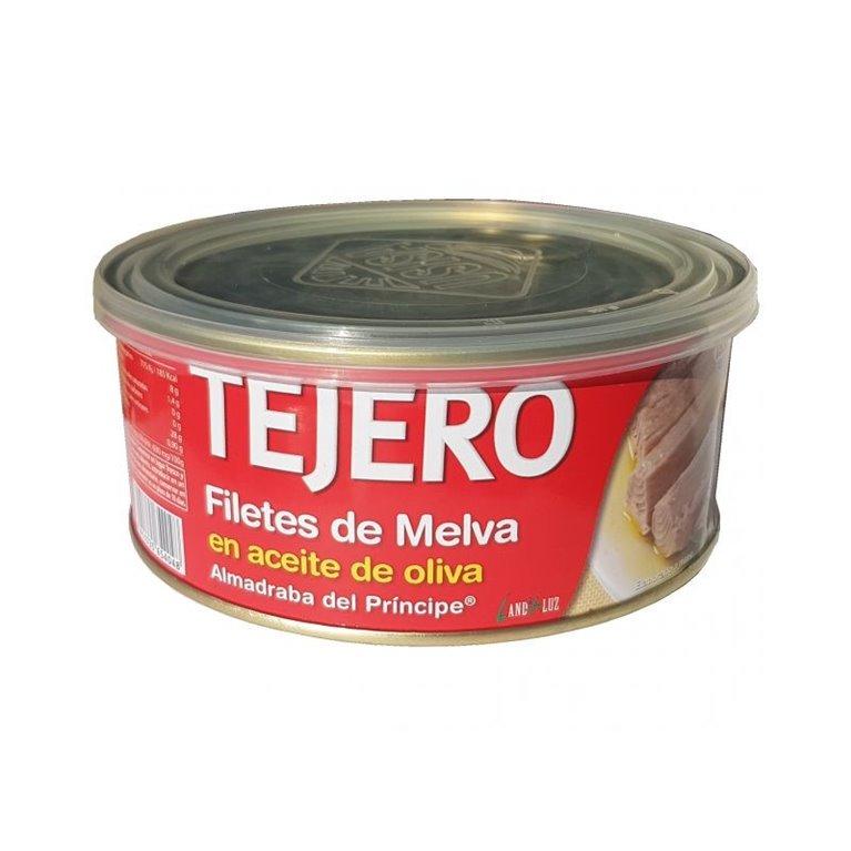 Filetes de Melva Almadraba del Príncipe en aceite oliva TEJERO 1KG