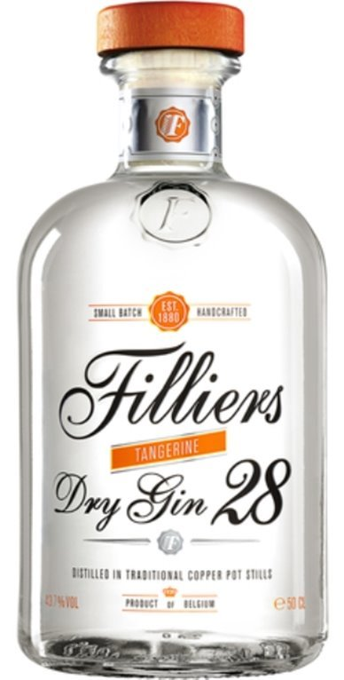 Filliers Dry Gin 28 Tangerine, 1 ud