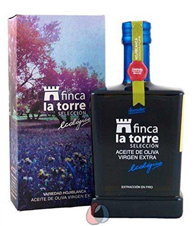 Finca La Torre Seleccion. Aceite de oliva Hojiblanca. Botella de 500 ml., 1 ud