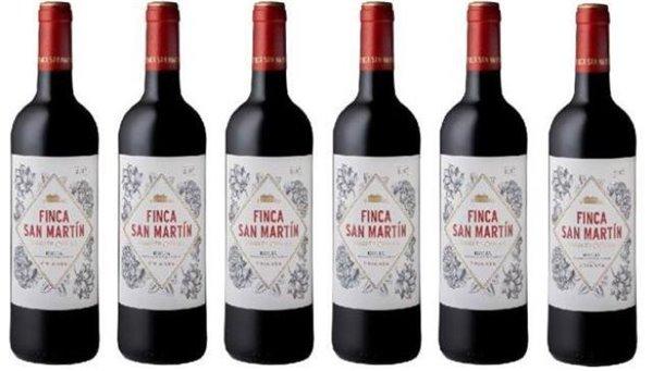 Finca San Martin 2017 caja de 6 botellas