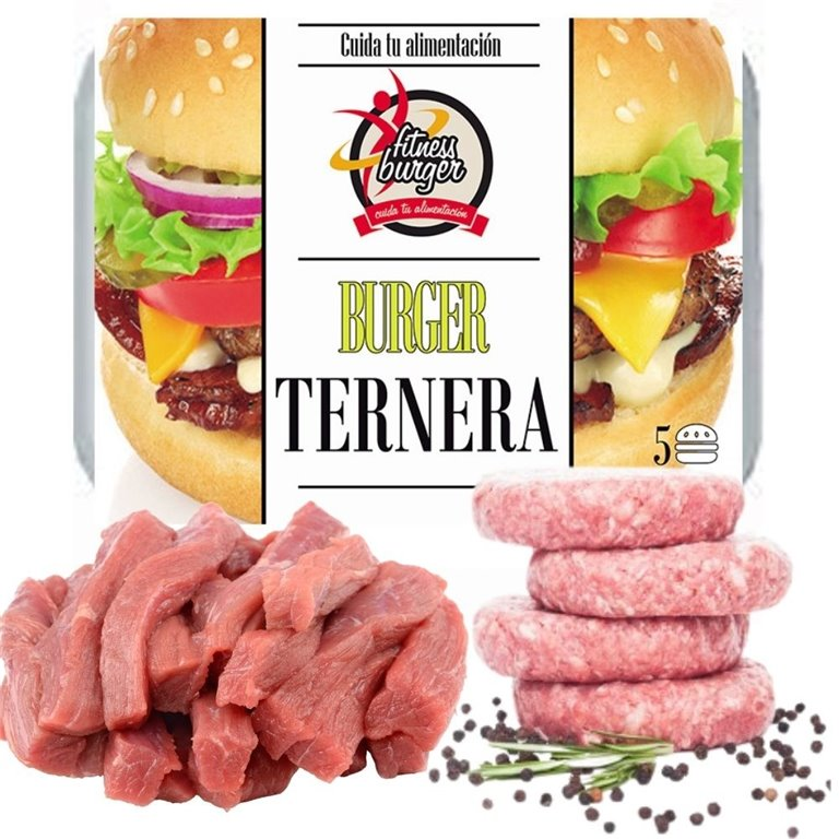 FITNESS BURGER VEAL