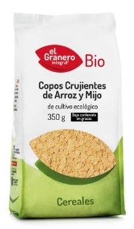 Flakes de Arroz y Mijo Bio 350g