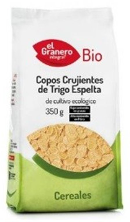 Flakes de Espelta (Sin Azúcar) Bio 350g